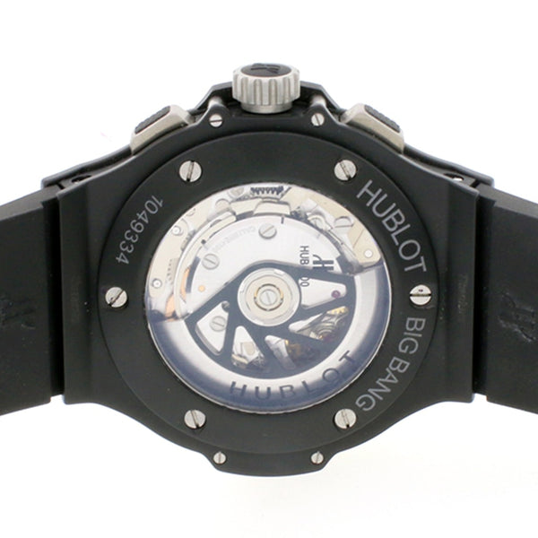 Hublot Big Bang Black Magic Carbonfiber Chronograph Ceramic Automatic Mens Watch 301.CI.1770.RX