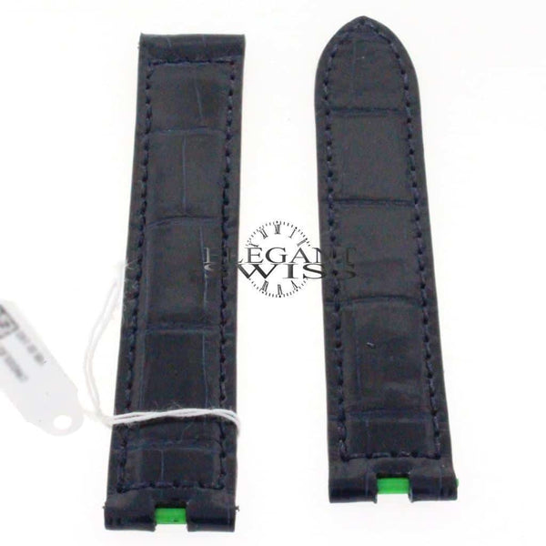 Genuine Cartier Navy Alligator Leather Strap KD50ZE50 16mm