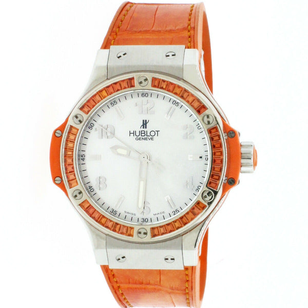 Hublot Big Bang Tutti Frutti Orange MOP Dial 38mm Watch 361.SO.6010.LR.1906