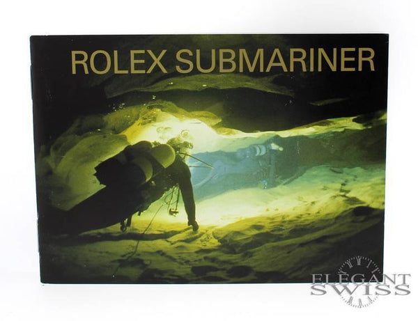 Rolex Submariner Booklet in English