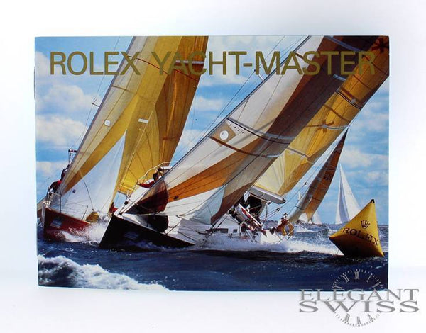 Rolex Yacht-Master Booklet in English