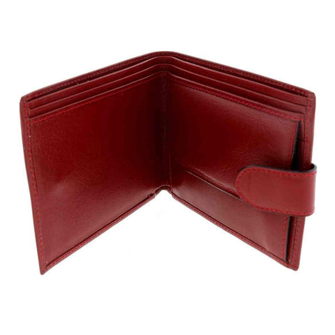 Rolex Red Leather Wallet with Embossed Logo 100% Authentic!