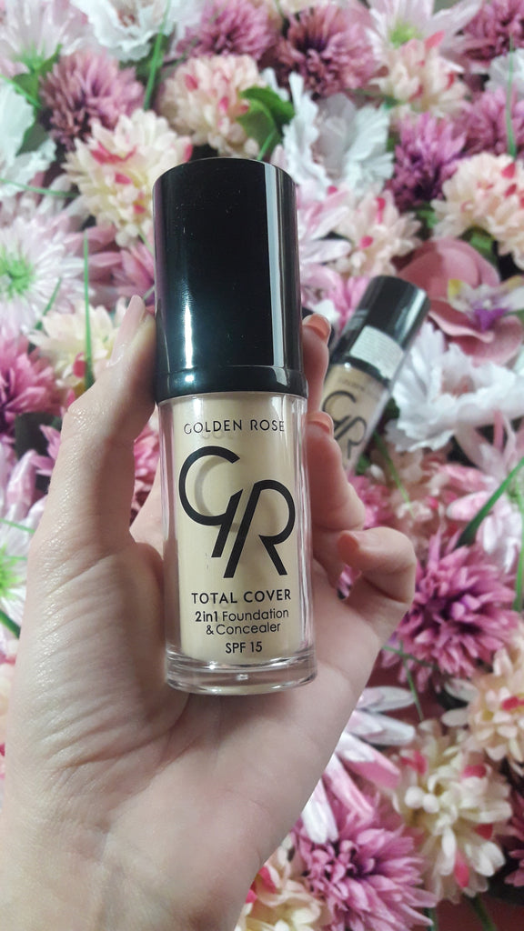 Total Cover 2in1 Foundation & Concealer – recenzija
