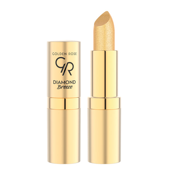 Diamond Breeze Shimmering Lipstick - Golden Rose Cosmetics BiH