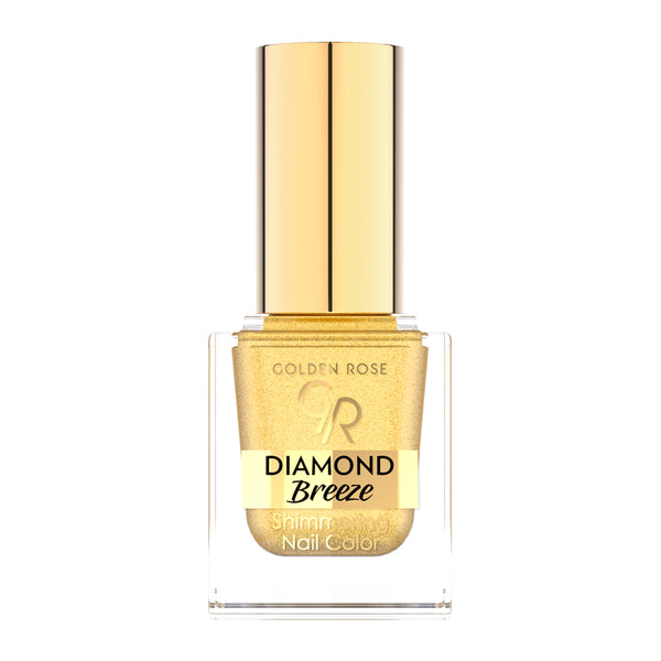 Diamond Breeze Shimmering Nail Color - Golden Rose Cosmetics BiH