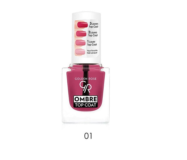 Ombre Top Coat - Golden Rose Cosmetics BiH