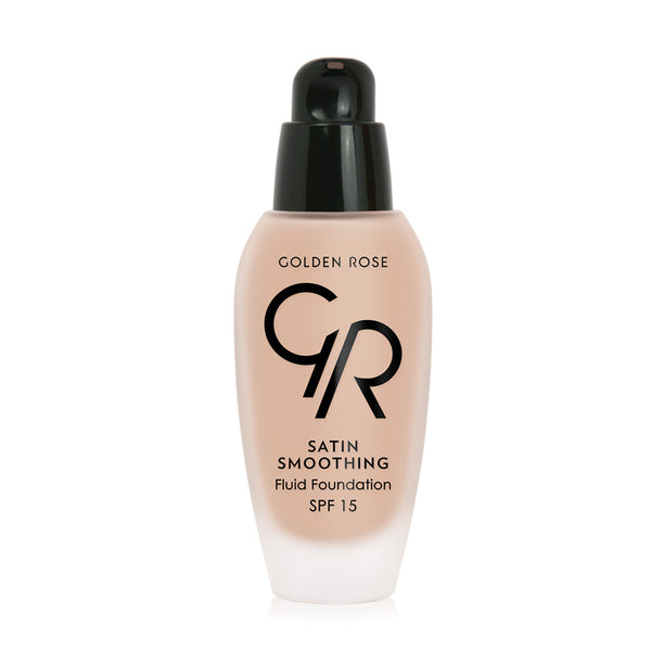 Satin Smoothing Fluid Foundation - Golden Rose Cosmetics BiH