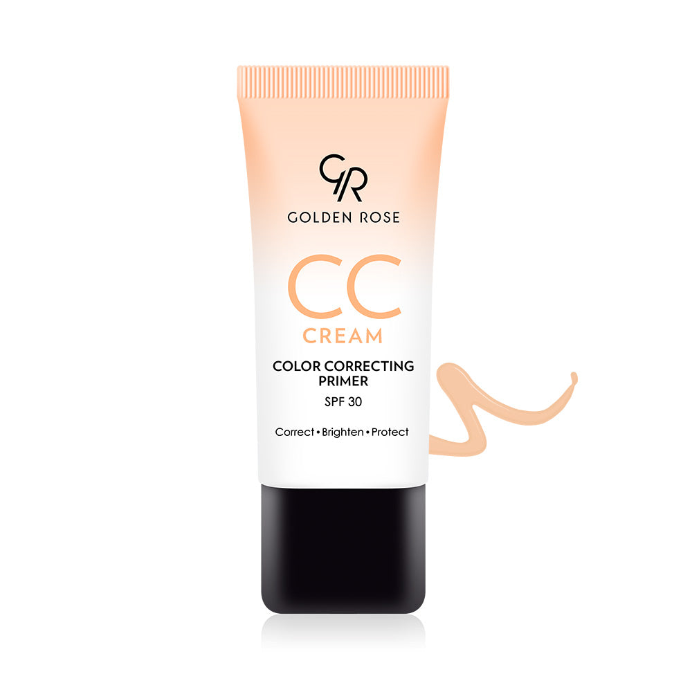 CC Cream Color Correcting Primer – Orange - Golden Rose Cosmetics BiH