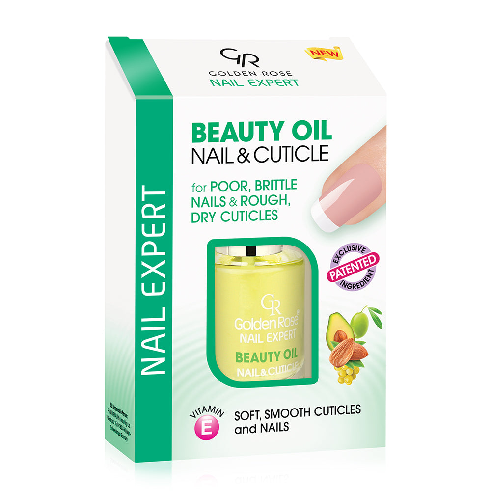Nail Expert Beauty Oil Nail & Cuticle - Golden Rose Cosmetics BiH