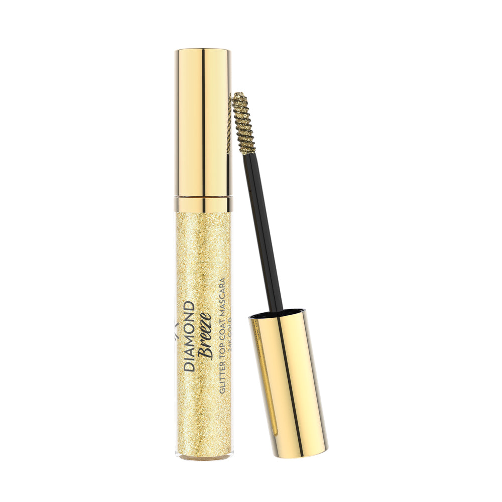 Diamond Breeze Glitter Top Coat Mascara - Golden Rose Cosmetics BiH