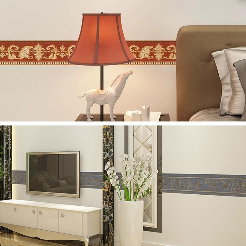 Three-Dimensional Wall Stickers Embossed Wallpaper