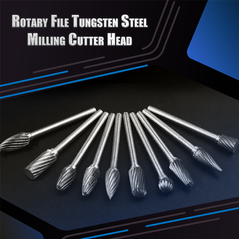 Rotary File Tungsten Steel Milling Cutter Head