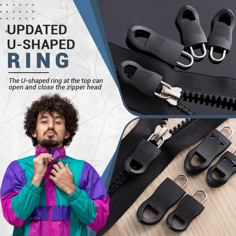 Universal Detachable Zipper Puller Set (Free Shipping Over 30!)