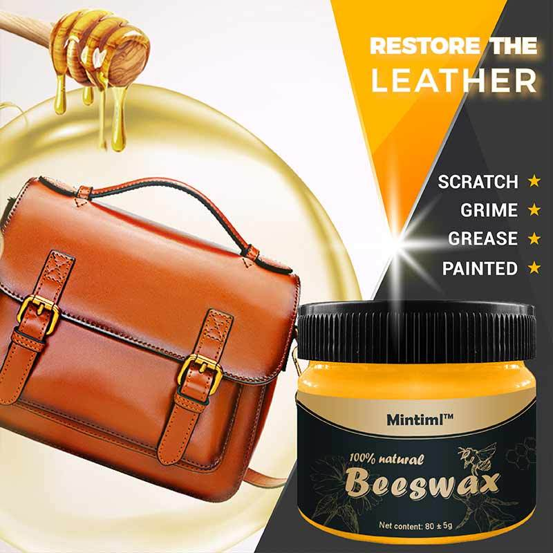 Leather Restoring Maintaining Beeswax