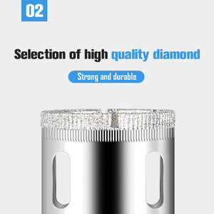 Diamond Hole Drill Bit Set (16 Pieces)