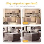 Magnetic Push Open Latch