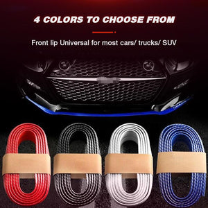Universal Carbon Fiber Front Bumper Lip Strip(Buy 2 Free Shipping)