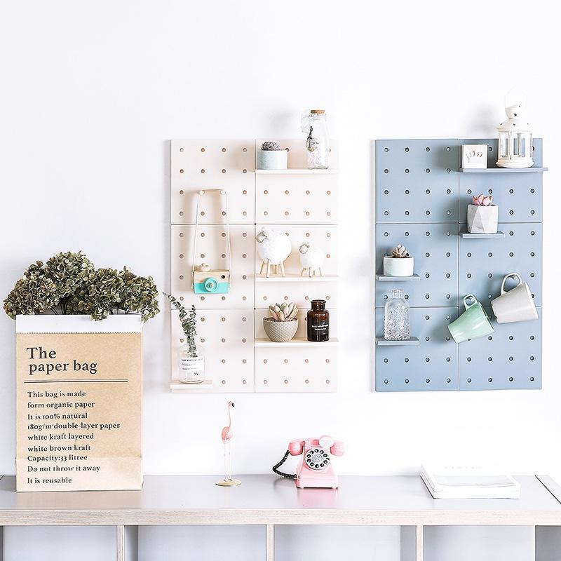 DIY Storage Free Punching Tallation Shelf