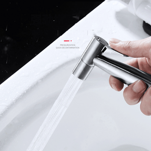 Premium Stainless Steel Hand Held toilet flusher