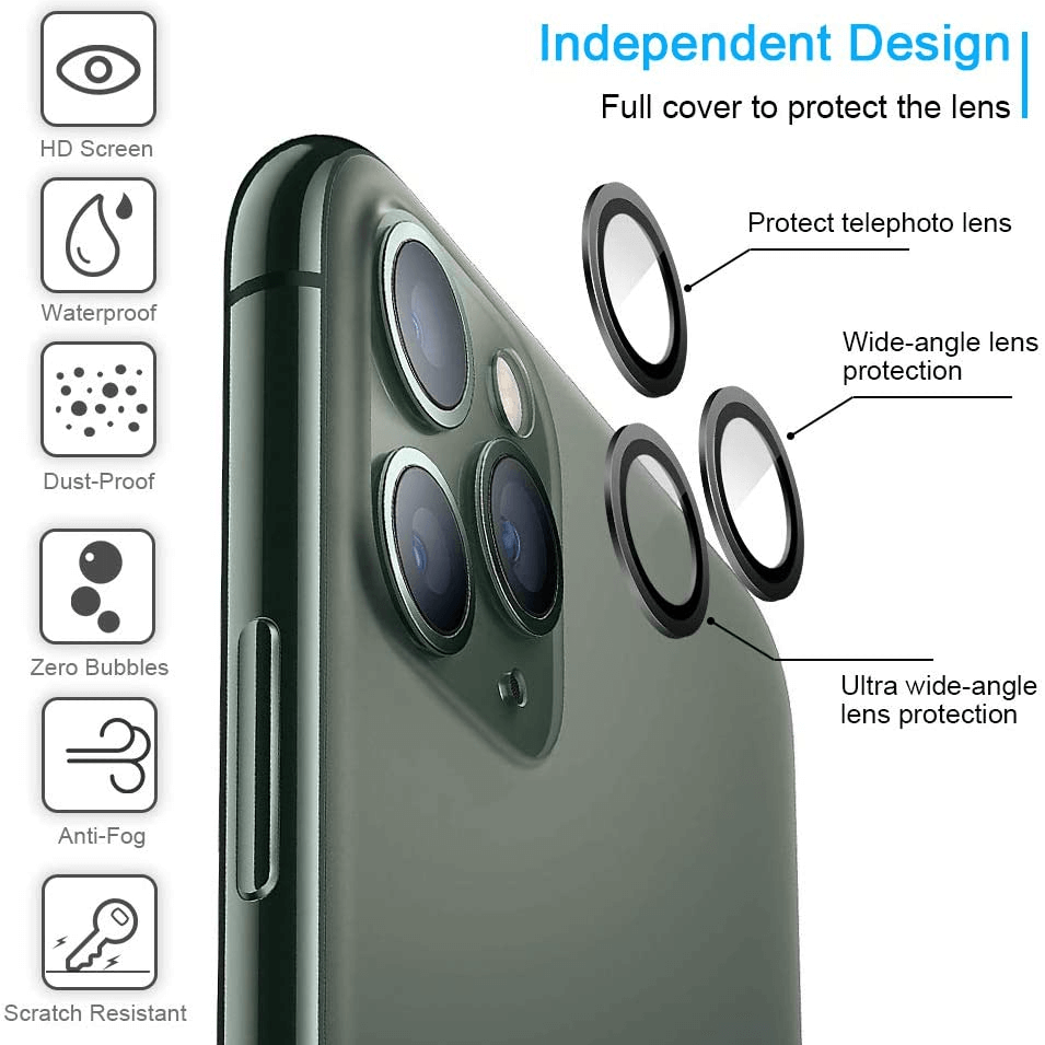 Freely Color Matching HD iPhone Camera Lens Protector