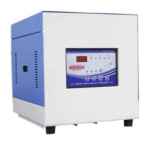 10KVA Single Phase Servo Voltage Stabilizer  Air-Cooled