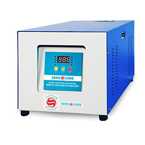 7.5 KVA Single-phase Servo Voltage Stabilizer Air Cooled
