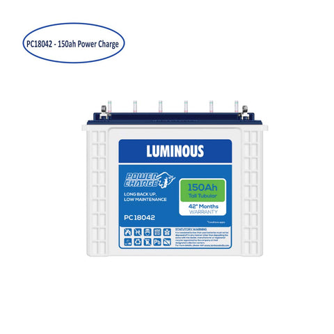 Best Luminous power charge pc 18042 150ah battery under 13000