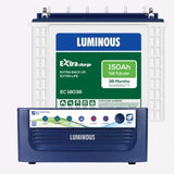 luminous Eco volt neo 1050 inverter & 150Ah - Ec18036  Battery Tall Tubular