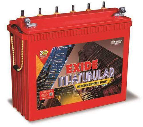 Buy Online Exide inva Master Tubular IT 750 200ah Tall Tubular Battery at Lowest Price