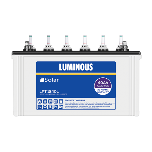 Luminous 40ah Solar Battery LPT 1240L