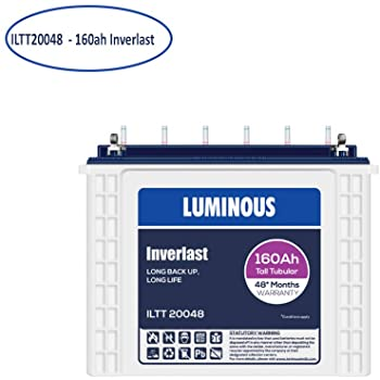 Luminous Battery 160 Ah - ILTT20048 Inverlast Tall tubular