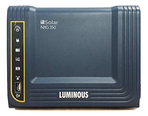 Luminous NXG 350 Hybrid Solar Inverter 300VA/12V Hybrid Home UPS