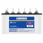Luminous Solar 40ah tubular battery LPT1240H