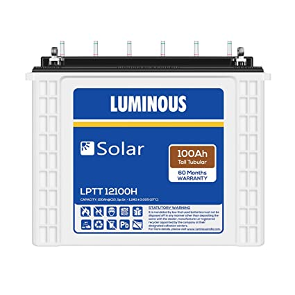 Luminous Solar Battery 100ah LPT12100H