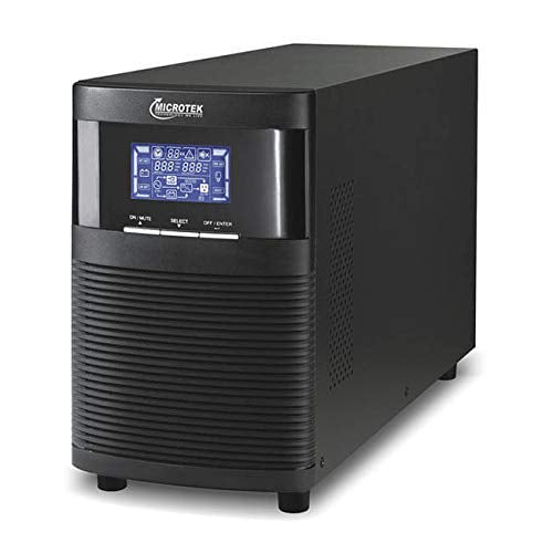 Microtek 1KVA/24V Online UPS With Inbuilt Battery (9AH X 2 Battery)