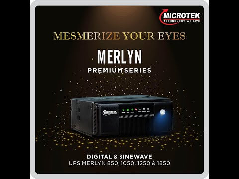 Microtek UPS Merlyn 850/12v Sinewave Inverter UPS System at Online Low Price In India