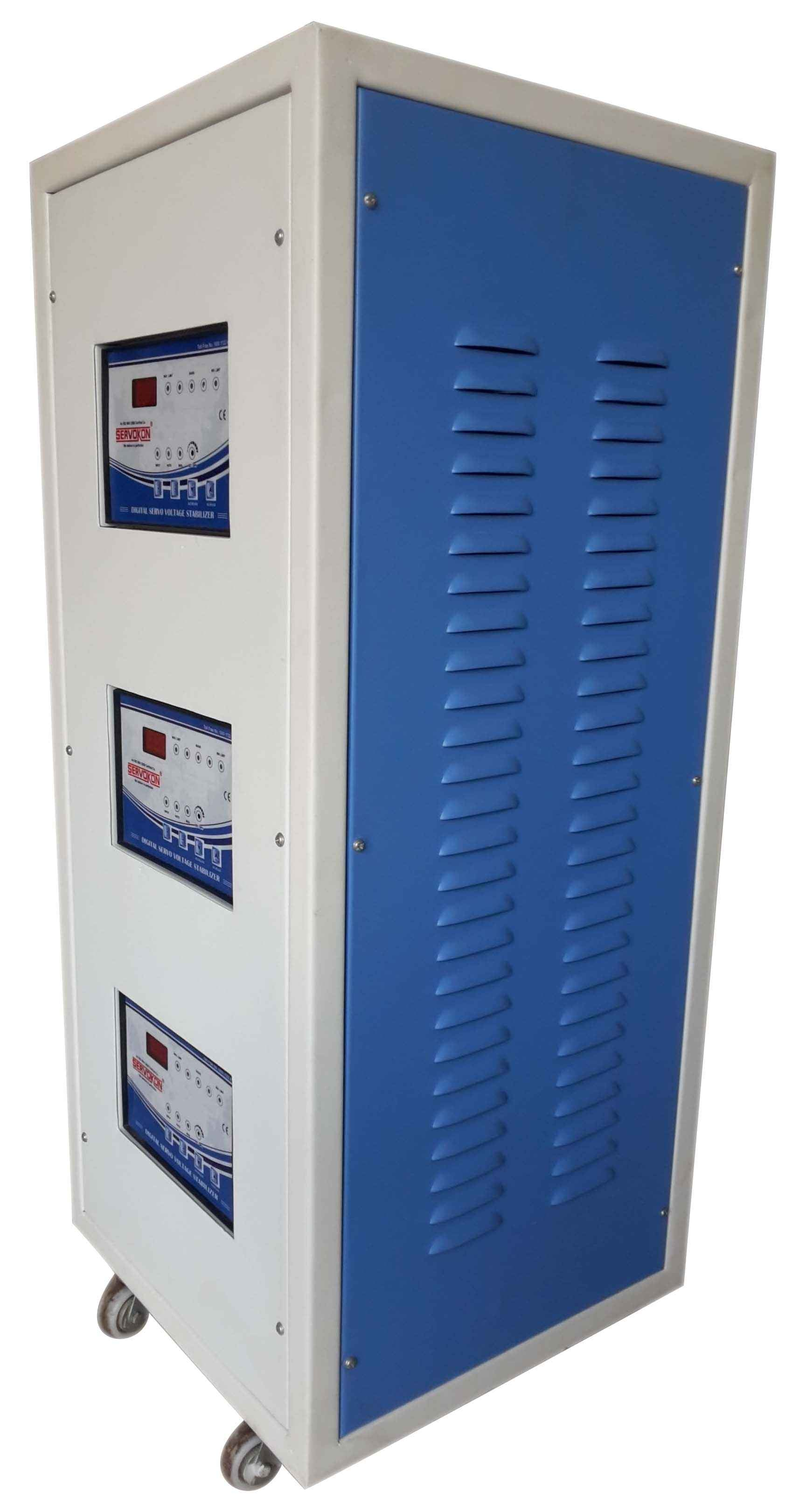 Servokon 15 KVA Servo Voltage Stabilizer 3 phase Air-cooled