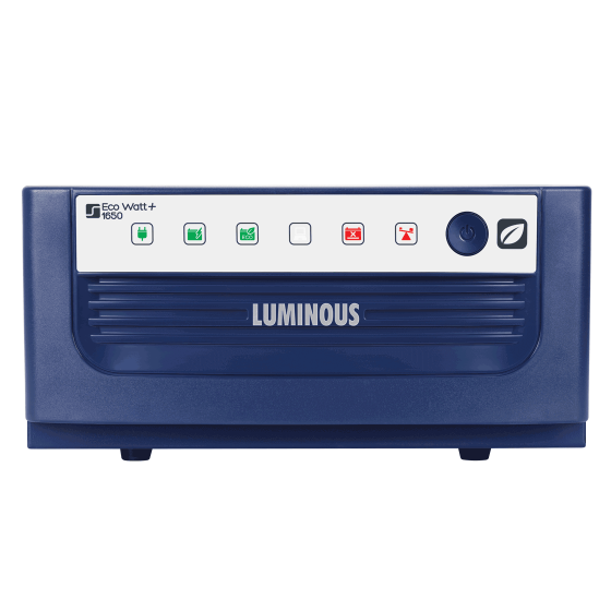 Luminous Eco Watt+ UPS 1650 24v Sqaure Wave Inverter