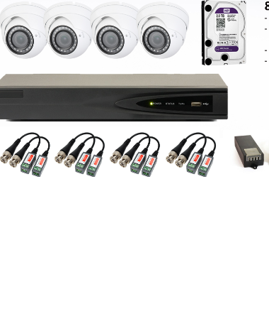 2MP 8 CHANNEL KIT