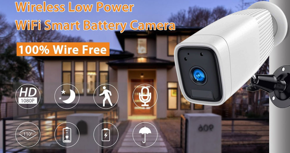 SMART HOME IUB-BC15 BATTERY WIFI CAMERA