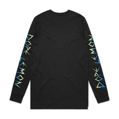 LEMON / BLACK LONGSLEEVE T-SHIRT