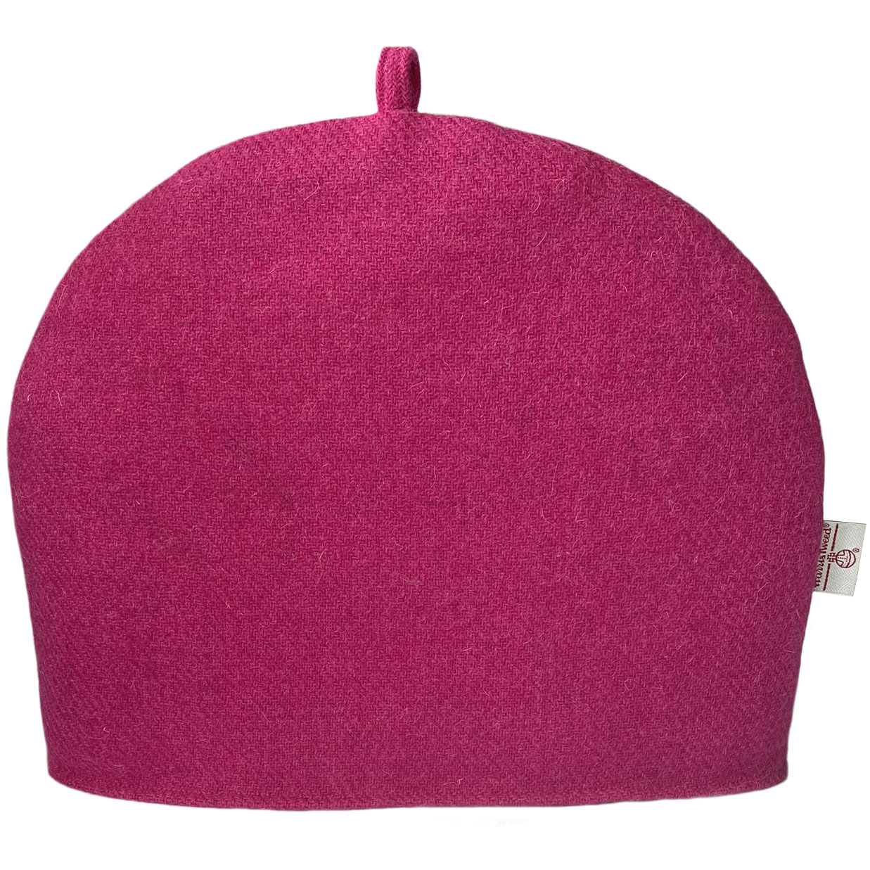 Harris Tweed Fuchsia Pink Tea Cosy
