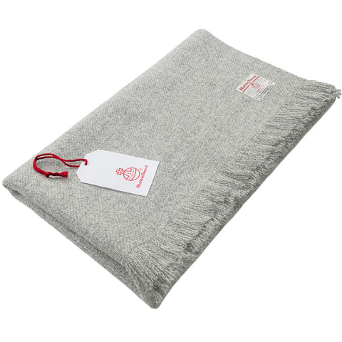 Light Grey Marl Lap Blanket