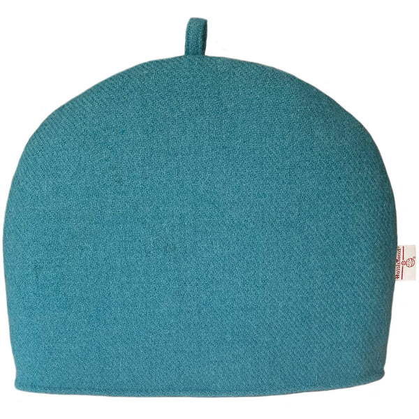 Harris Tweed Teal Tea Cosy