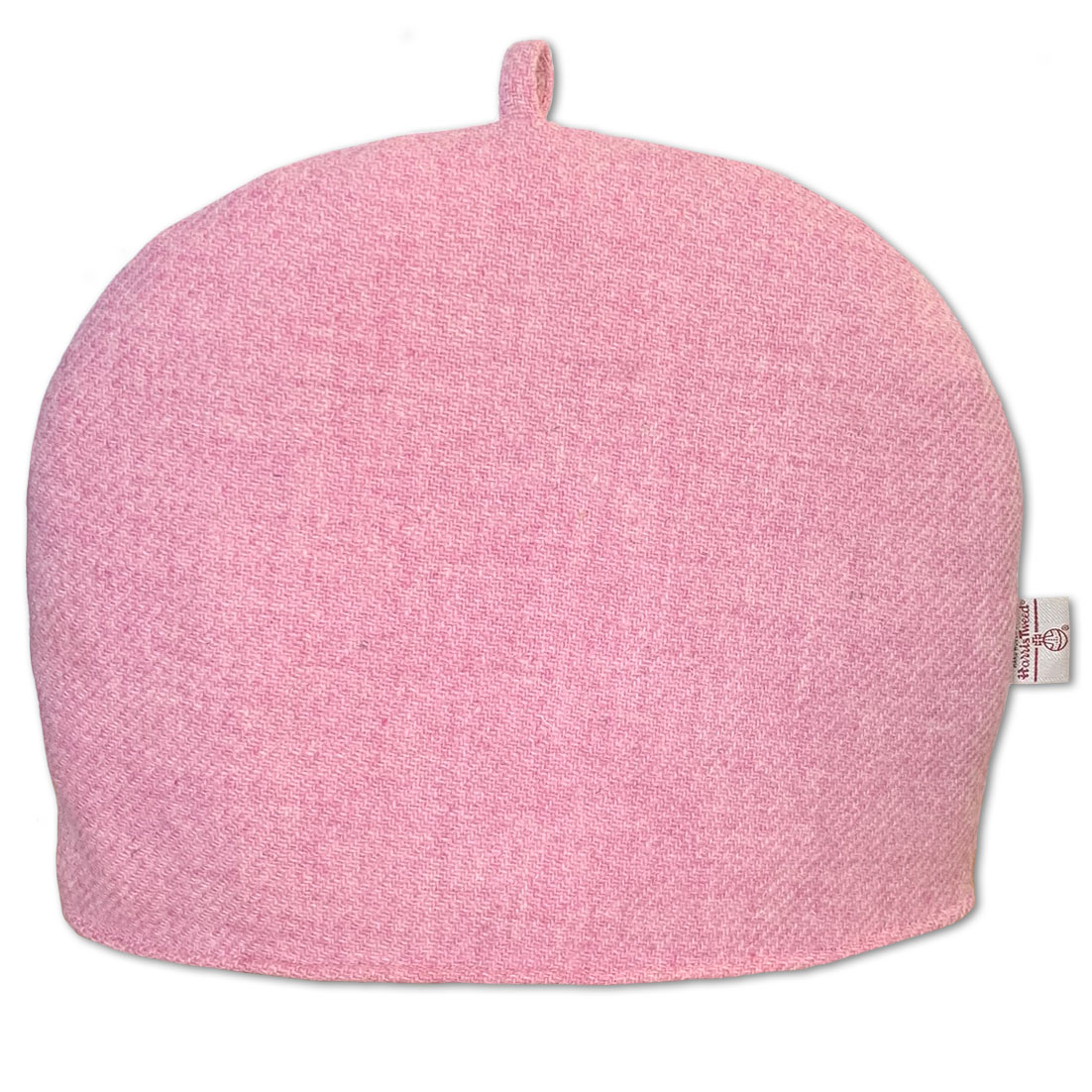 Harris Tweed Blush Pink Tea Cosy