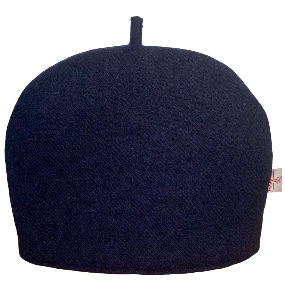 Harris Tweed Navy Blue Tea Cosy