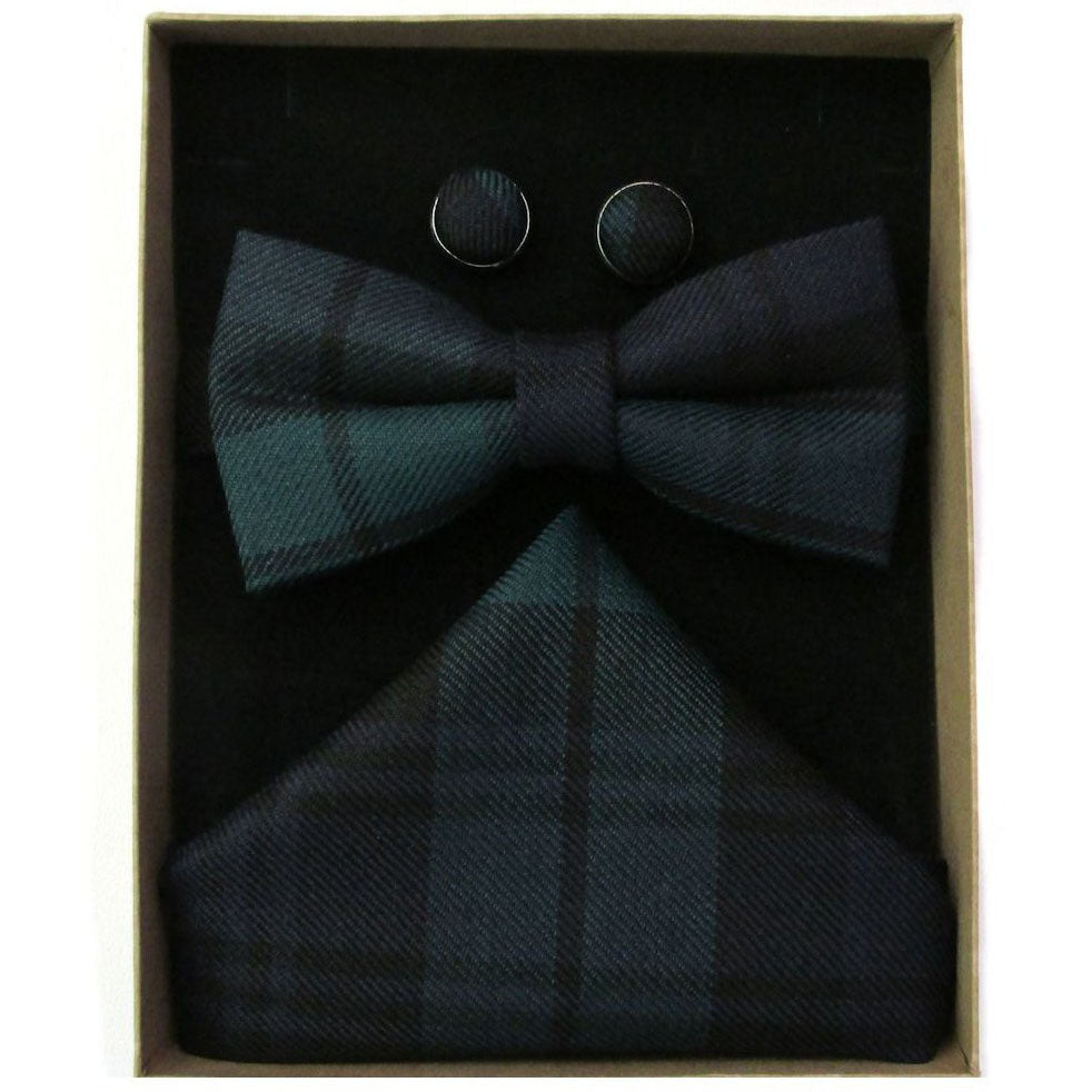Black Watch Bow Tie Boxed Set