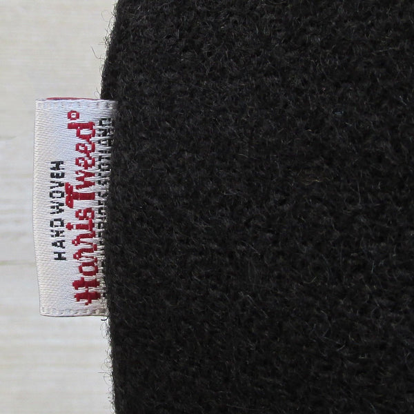 Harris Tweed Jet Black Neck Warmer