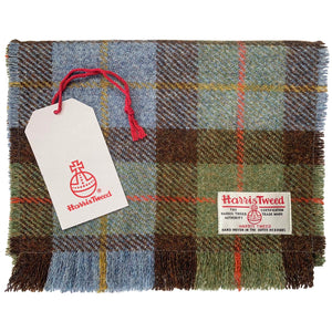 Harris Tweed MacLeod Tartan Check Scarf
