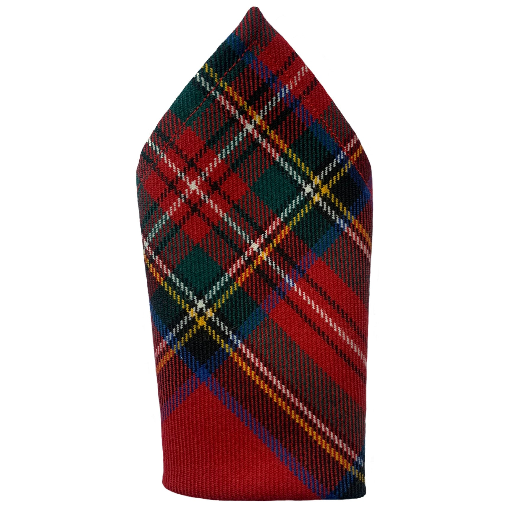 Royal Stewart Tartan Pure Wool Pocket Square